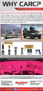 Chemical Agent Resistant Coating Flyer