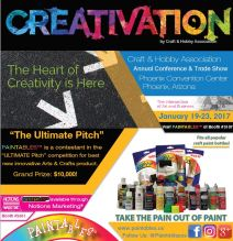 Paintables Creativation Flyer